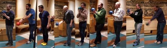Teilnehmer Kegel Showdown